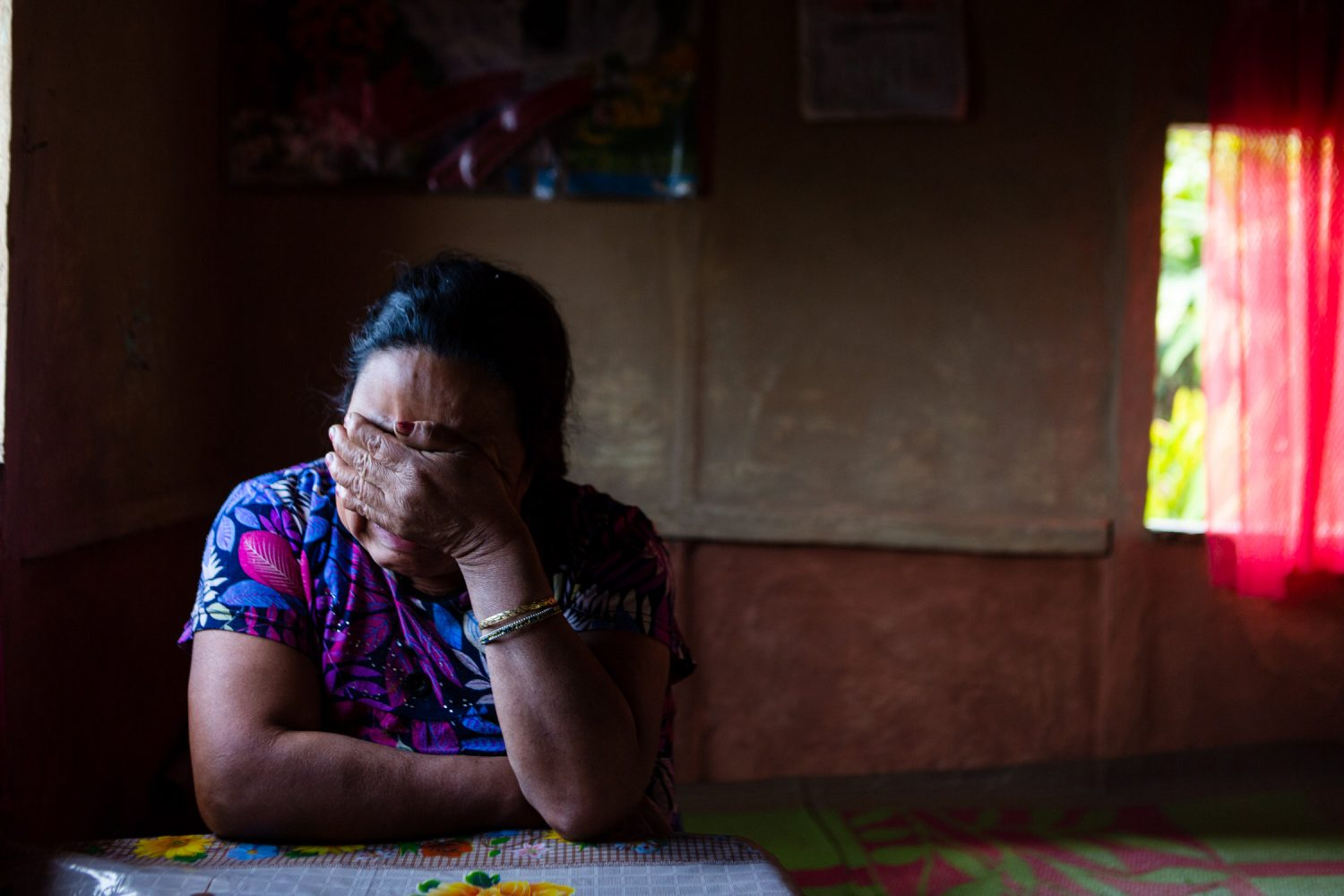 portrait of human rights victims in darjeeling by nishal lama