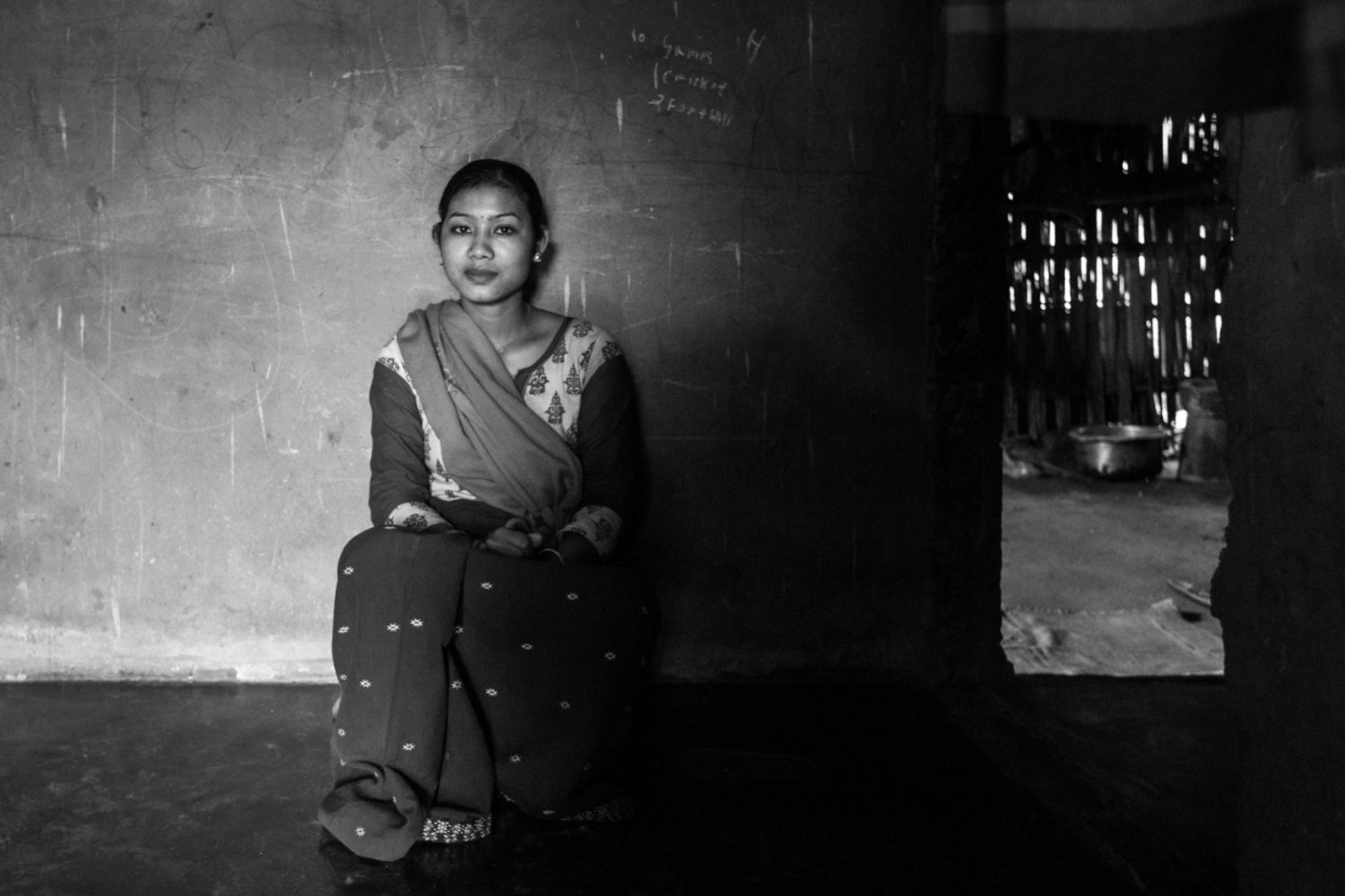 portrait of ex militant in north east india by nishal lama